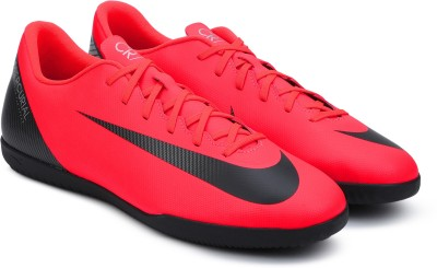 Nike VAPOR 12 CLUB CR7 IC Football Shoes For Men(Red) 1