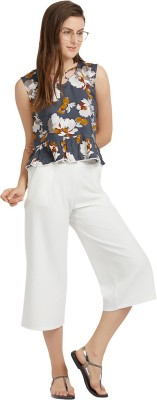 MISH Casual Sleeveless Floral Print Women