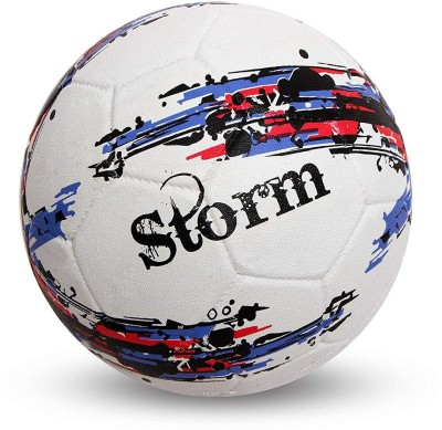 Nivia STROM Football   Size: 5 Pack of 1, White