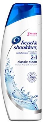 Head & Shoulders Shampoo Classic Clean 2-In-1 13.5 Ounce (400ml) (2 Pack)(1000 ml)