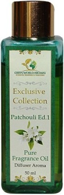 Green World Aromas White Patchouli Pure Fregrance Oil Diffuser Aroma(50 ml)