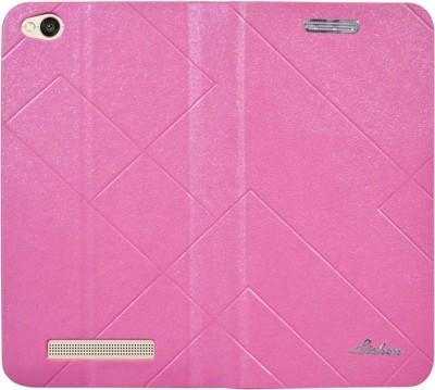 Coverage Flip Cover for Mi Redmi 4A Pink