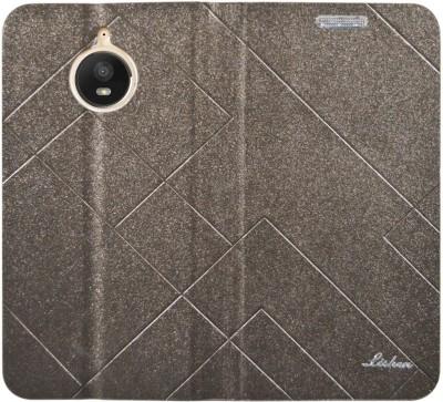 COVERNEW Flip Cover for Motorola Moto E4 Plus Brown