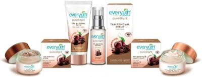 Everyuth Naturals Pure & Light Tan Removal Kit(Set of 4)