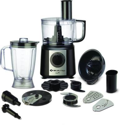 Bajaj Majesty FX 9 New 410201 700 W Food Processor(Black, Silver)