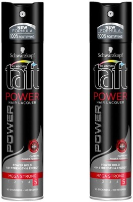 Schwarzkopf 2 Taft Power Hair Lacquer Hair Spray(250 ml)