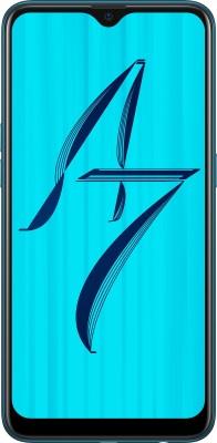 OPPO A7 (Glaze Blue, 64 GB)(4 GB RAM)  Mobile (Oppo)