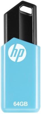 HP v150W PENDRIVE 64  GB Pen Drive Blue, Black HP Pen Drives