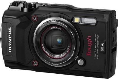 Olympus Tough TG-5 V104190BU000 Waterproof Camera with 3-Inch LCD (Black)