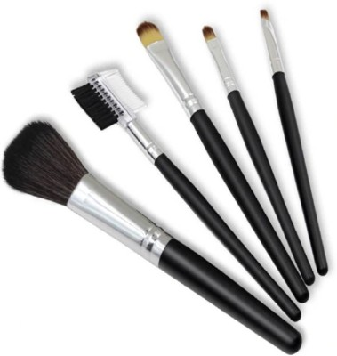 Glamzone Makeup Brush_Multicolor Pack of 5 Glamzone Makeup Brush