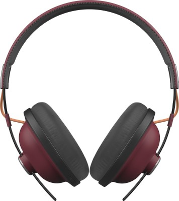 Panasonic RP-HTX80BE-R Bluetooth Headset(Red, On the Ear)