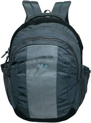 Viviza 15.6 inch Expandable Laptop Backpack Grey