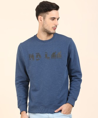 Lee Full Sleeve Graphic Print Men Sweatshirt at flipkart
