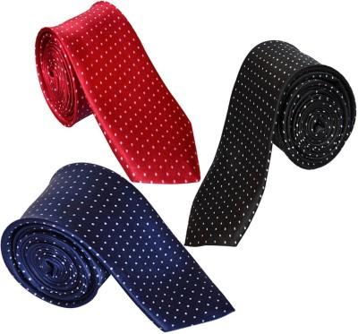 LOOPA Polka Print Tie(Pack of 3)