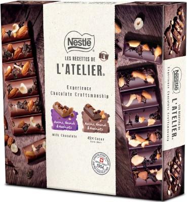 Nestle Les Recettes de l'Atelier Special gift pack Bars(300 g)