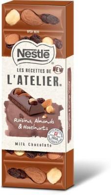 Nestle Les Recettes de l'Atelier Raisins Almonds Hazelnuts Bars(100 g) at flipkart