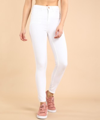 Tokyo Talkies Super Skinny Women White Jeans