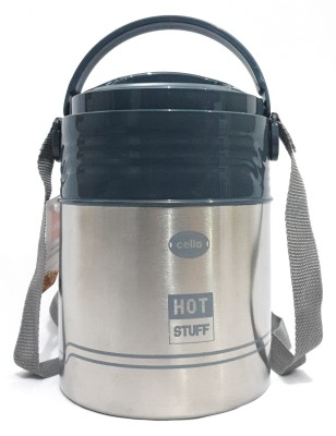 Cello Hot Stuff 3 Containers Lunch Box(750 ml)