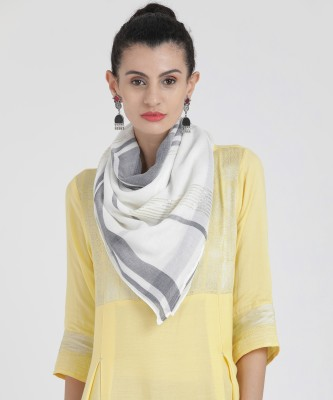 Aurelia Striped 100% rayon Women Scarf