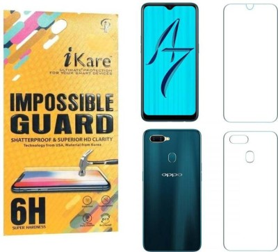 iKare Front and Back Screen Guard for Samsung Galaxy A70(Pack of 1)