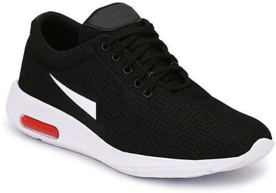 DUALCOM Walking Shoes For Men(Black)