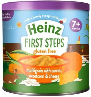 heinz Multigrain With Carrot , Sweetcorn & Cheese 200g Cereal(200 g, 1)