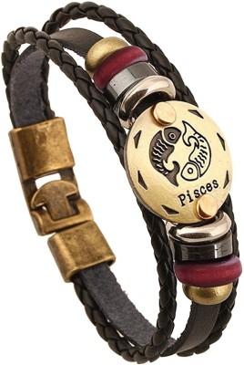 Muse Creations Leather Bracelet at flipkart