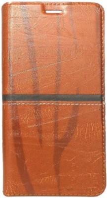 Techforce Flip Cover for Mi Redmi Note 6 Pro Brown