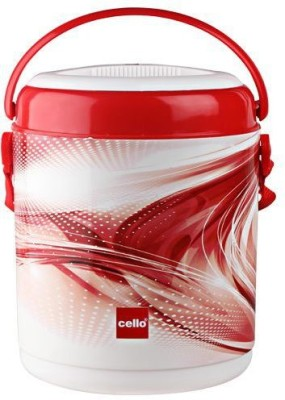 Cello Lunch Box Mark 3 Deluxe 390 ml 3 Containers Lunch Box(390 ml)
