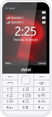 Detel D1 Sleek(White)