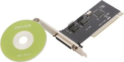 Live Tech PCI 2S/1P Combo Network Interface Card Black Live Tech Network Interface Cards