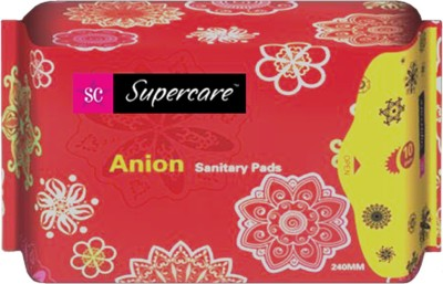 supercare anion sanitary pads Sanitary Pad(Pack of 3)