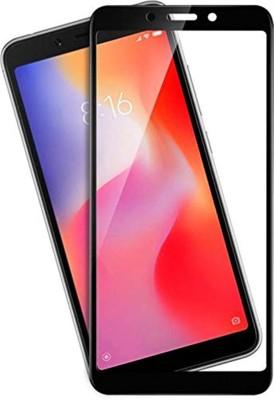 True desire Tempered Glass Guard for Tempered Glass Screen Protector Gorilla 9H Hardness for Xiaomi Redmi 6 A/Redmi 6A - Black(Pack of 1)