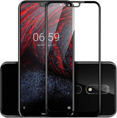 True Desire Tempered Glass Guard for Nokia 6.1 Plus(Pack of 1)