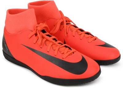 Nike SUPERFLY 6 CLUB CR7 IC Football Shoe For Men(Pink) 1