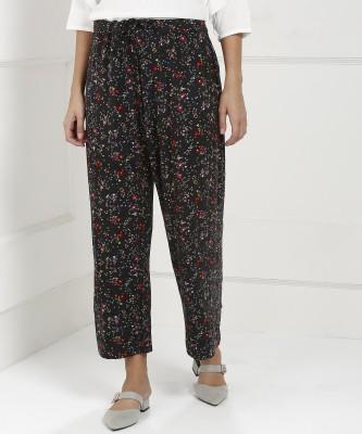 Biba Regular Fit Women Multicolor Trousers