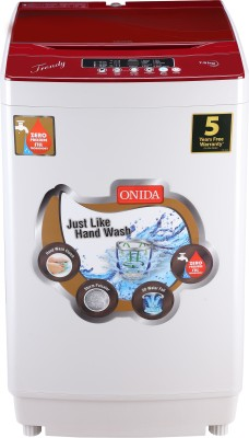 Onida 7.5 kg Fully Automatic Top Load Washing Machine Grey(T75TR) (Onida)  Buy Online