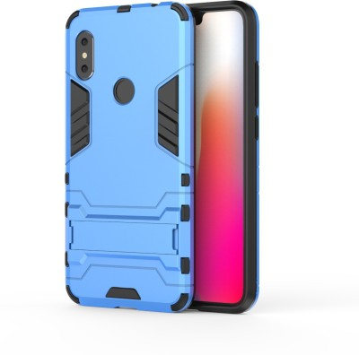 GadgetM Back Cover for Mi Redmi Note 6 Pro(Sky Blue, Shock Proof, Plastic, Rubber)