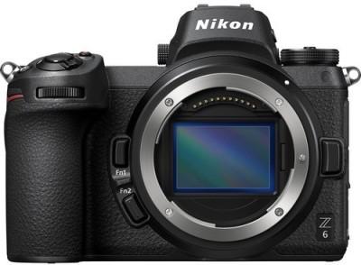 Nikon Z 6 Mirrorless Camera Body Only Black Nikon DSLR   Mirrorless