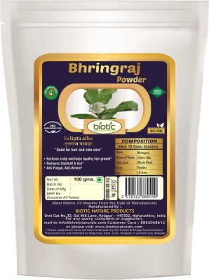 biotic 100% Natural Bhringraj Powder ( Eclipta Alba ) - 100 g(100 g)