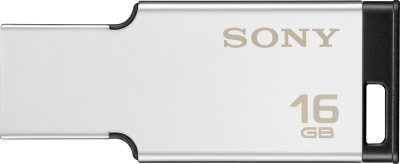 Sony USM16MX/S//USM16MX/S IN 31302053 16 GB Pen Drive  (Silver)