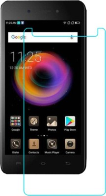 CHAMBU Tempered Glass Guard for Micromax Canvas 2 Colours 8GB(Pack of 1)