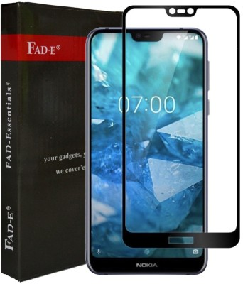 FAD-E Edge To Edge Tempered Glass for Nokia 7.1(Pack of 1)