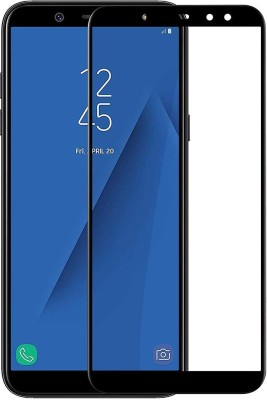 Snoogg Tempered Glass Guard for Samsung Galaxy A6(Pack of 1)