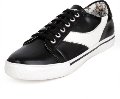 Red Cruise - Sneakers/casual/dress shoes-Black Sneakers For Men(Black, White)