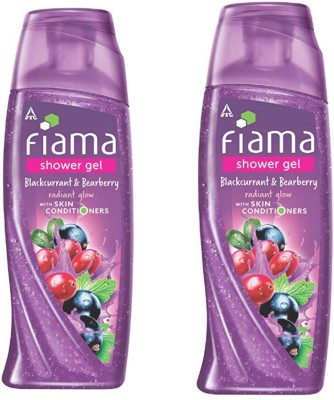 Fiama Di Wills Blackcurrant & Bearberry Radiant Glow Shower Gel - 250 ml (Pack of 2)(500 ml, Pack of 2)