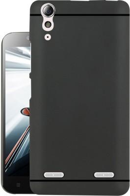 Jkobi Back Cover for Lenovo A6000(Black, Dual Protection, Rubber)