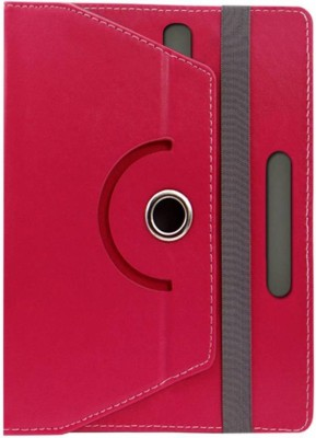 Fastway Book Cover for Micromax Canvas Tab P701 7 inch(Pink)