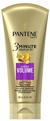 Pantene Sheer Volume 3 Minute Miracle Deep Conditioner(350 ml)