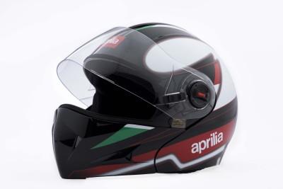 Aprilia SR150 RACE HELMET Motorbike Helmet(Black)